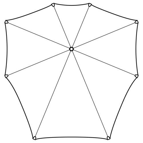 Зонт-трость senz° original tundra, retail 3