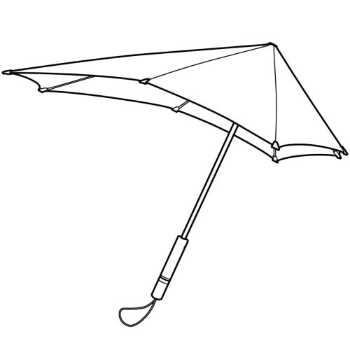 Зонт-трость senz° original tundra, retail 7