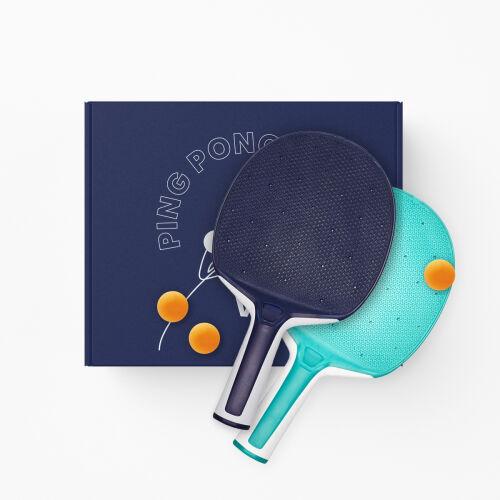 Набор для игры в настольный теннис с логотипом 1