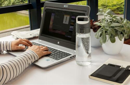 Герметичная бутылка для воды Hydrate, прозрачный 7