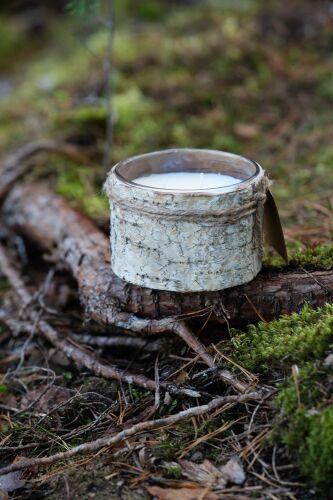 Свеча Birch Bark, большая 6