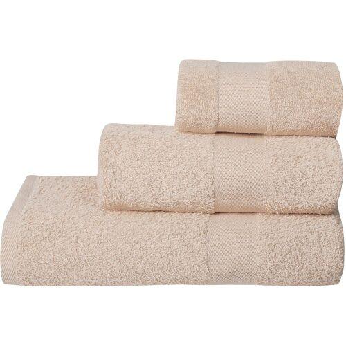 Полотенце махровое Soft Me Large, бежевое 2