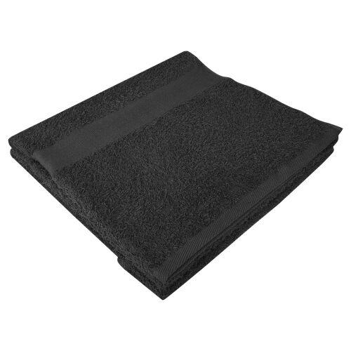 Полотенце махровое Soft Me Large, черное 1