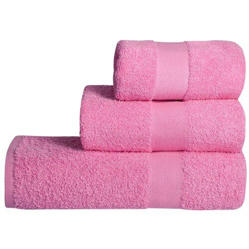 Полотенце махровое Soft Me Large, розовое 2