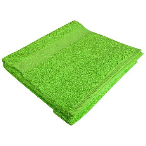 Полотенце махровое Soft Me Large, зеленое яблоко 1