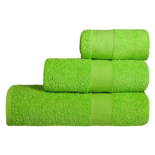 Полотенце махровое Soft Me Large, зеленое яблоко 2