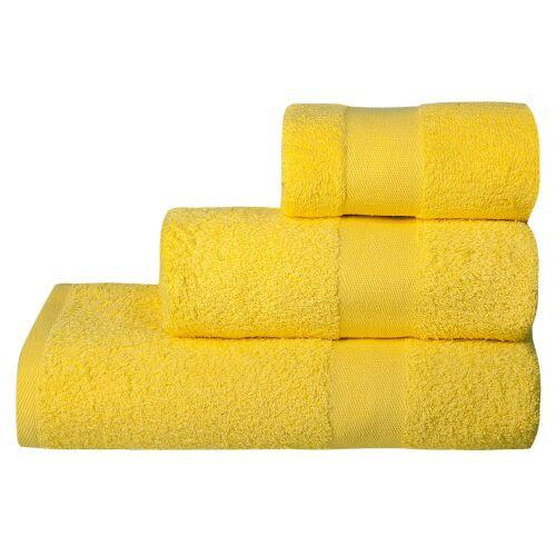 Полотенце махровое Soft Me Medium, желтое 2
