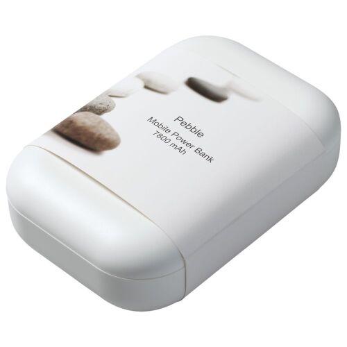 Внешний аккумулятор Pebble 7800 мАч, серый 3