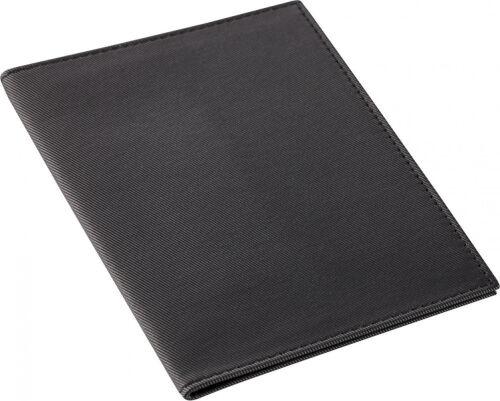 Обложка для паспорта Twill, черная 1