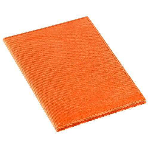 Обложка для автодокументов Twill, оранжевая 1
