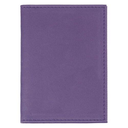 Обложка для автодокументов Twill, фиолетовая 2