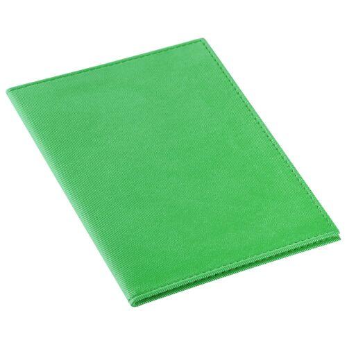 Обложка для автодокументов Twill, зеленая 1