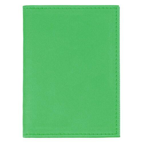 Обложка для автодокументов Twill, зеленая 2