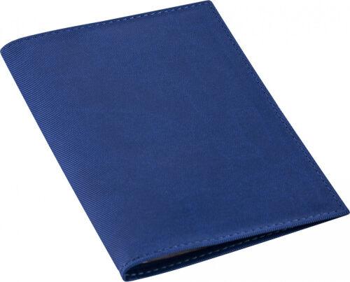 Обложка для автодокументов Twill, синяя 1
