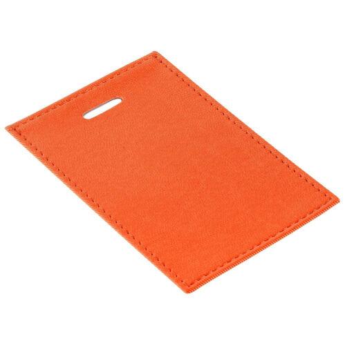 Чехол для пропуска Twill, оранжевый 1