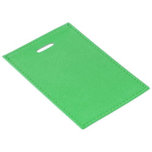 Чехол для пропуска Twill, зеленый 1