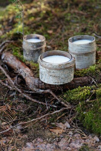 Свеча Birch Bark, большая 7