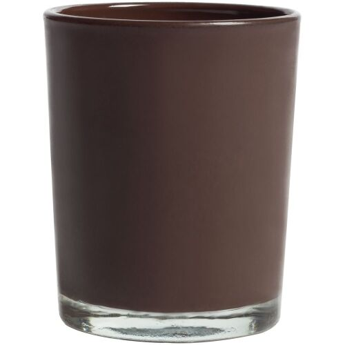 Свеча Glimmy, коричневая 2